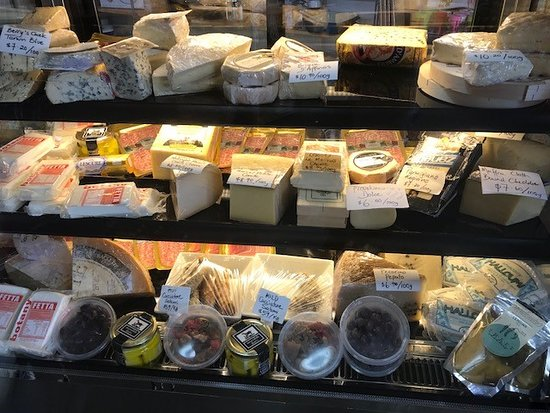 Great selection of Cheese and Deli items for lunch