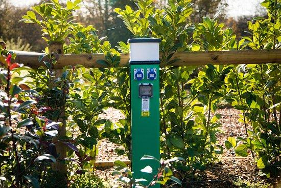 Dilton Marsh, UK: Electric hook up!