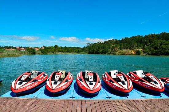 Sanxenxo, Spain: Aqua karts