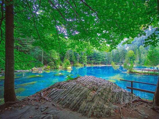 Blausee-Mitholz, Switzerland: Naturpark