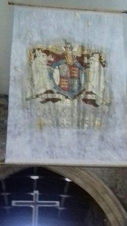 Sheriff Hutton, UK: Ricardian banner.