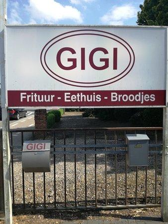 Bocholt, Belgia: Frituur eethuis gigi