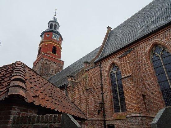 Buren, The Netherlands: architectuur uit de 14 de tot 16 de eeuw;Sint Lambertuskerk