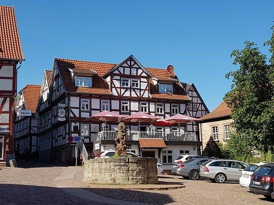 Schlitz, เยอรมนี: Gaststatte Am Marktplatz