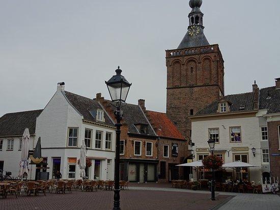 binnenpoort gezien vanaf de Markt Culemborg