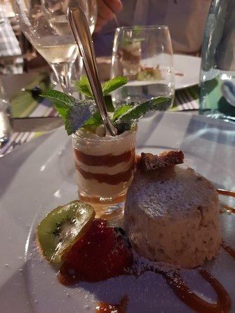 le dessert du jour;