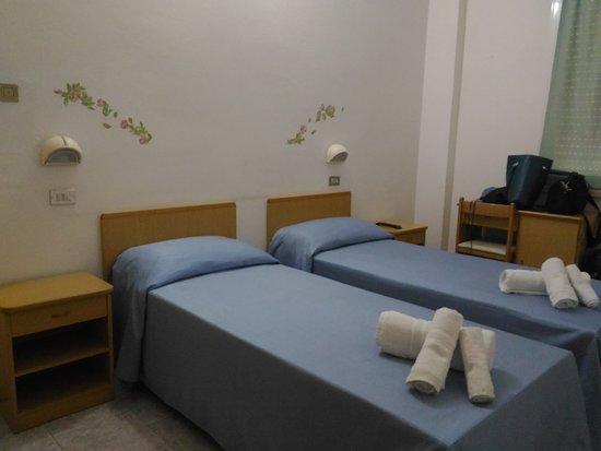 Camera doppia con letti singoli - Picture of Hotel Ancora ...