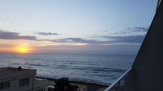 Umdloti, South Africa: Balcony looking out to sea