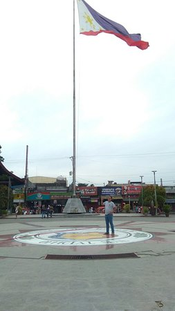 Guingona Park: Simple park yet a good place to chill out with your family and friends.