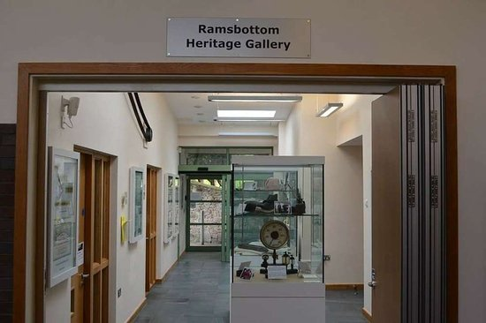Bury, UK: Entrance to the Heritage Gallery