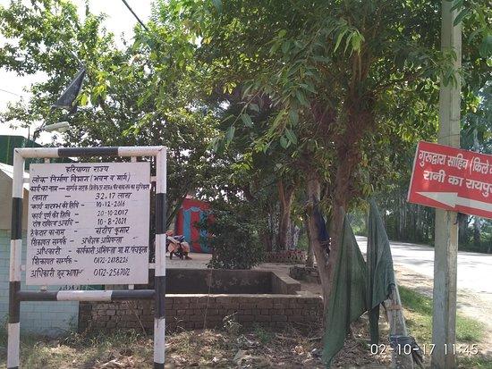 Way to Raipur Rani, Dist Panchkula, Haryana
