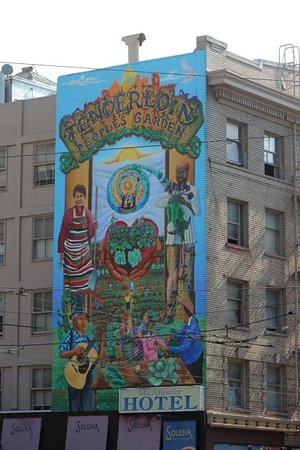Tenderloin People's Garden Mural