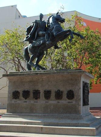 Statua equeste Simon Bolivar