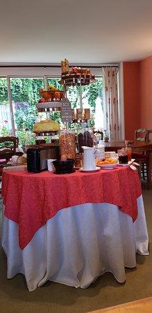 Hotel de Bourgogne: petit déjeuner