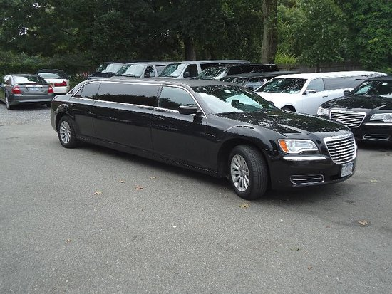 Farmingville, État de New York : The beautiful limo that took us on our trip into the city!