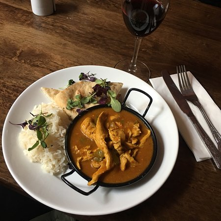 Cliffoney, Irlanda: Curry war ein wenig scharf (so wie ich es mag) und sehr lecker 👍