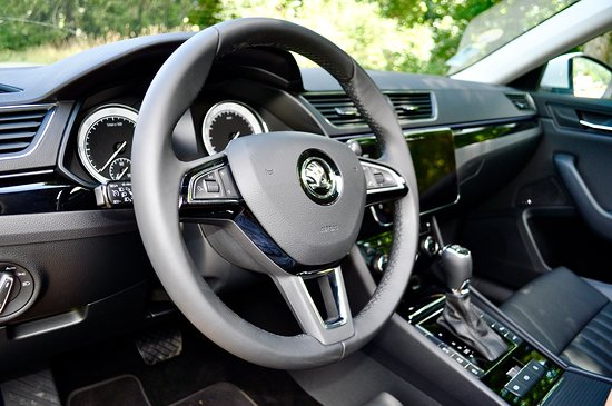 RFC Voyages: Skoda Superb Interior 1