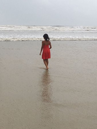 Varca Beach: An evening stroll along the beach with my family is what I like best.