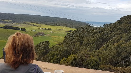 Johanna, Australien: Views during breakfast