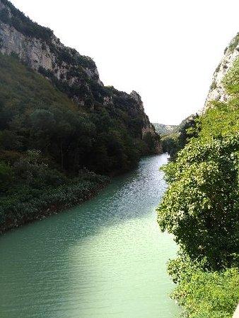 Province of Pesaro and Urbino, Italie : Riserva Naturale Statale Gola Del Furlo
