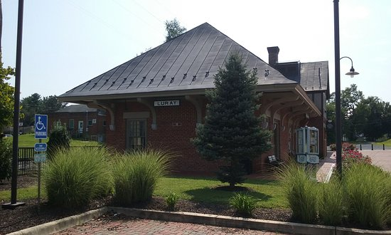 Luray, Virginie : Old RR station