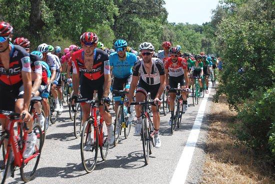 Parque Natural Cardena Montoro: Vuelta de Espana