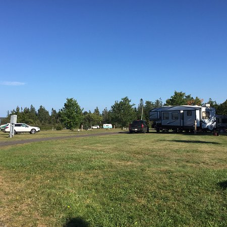 Large tenting and trailering spaces