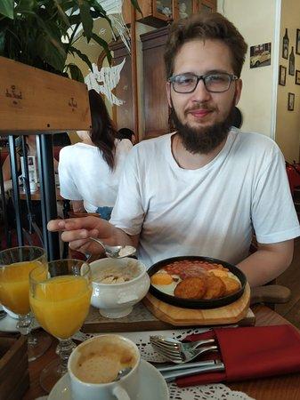 Самый любимый завтрак в Питере