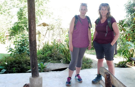 Bamboo Nest de Chiang Rai: SPENDING TIME WITH OTHER GUESTS FROM CANADA