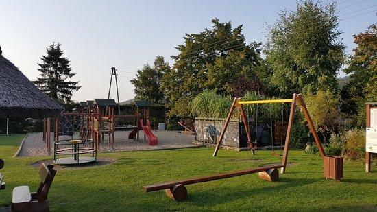 Walim, Polska: Plac zabaw dla dzieci.