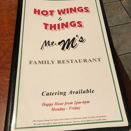 Montebello, Καλιφόρνια: Mr M's Hot Wings & Things Bar & Grill