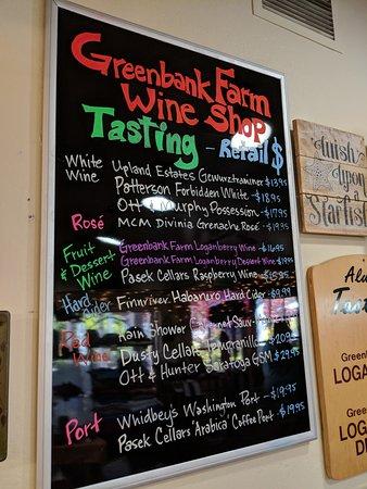 Greenbank, WA: Wine shop