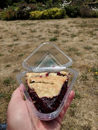 Greenbank, WA: Whidbey Pie - delicious