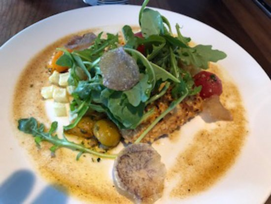 The Alden: Crusted Trout