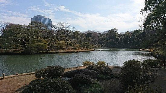 Rikugien Garden: 回遊式日本庭園