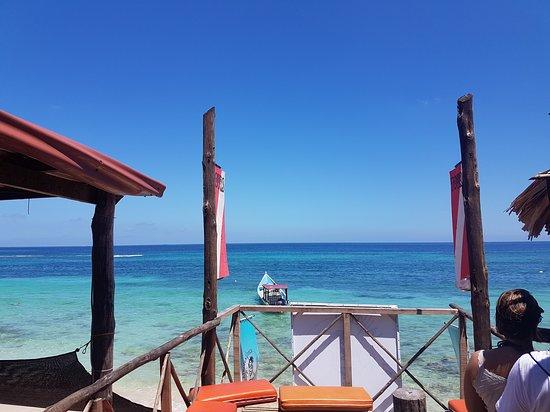 Isla Baru, كولومبيا: Vista desde el segundo piso