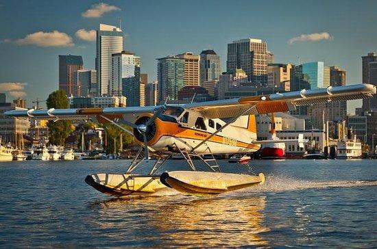 Lake Union watervliegtuig vlucht uit ...