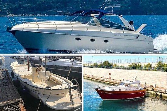 Capri en barco privado