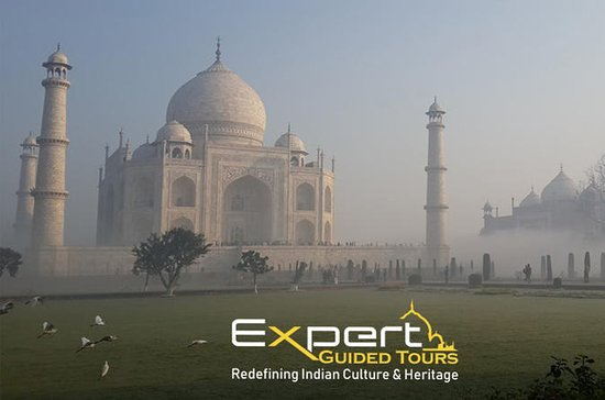 Taj Mahal Sunrise Tour de carro com...