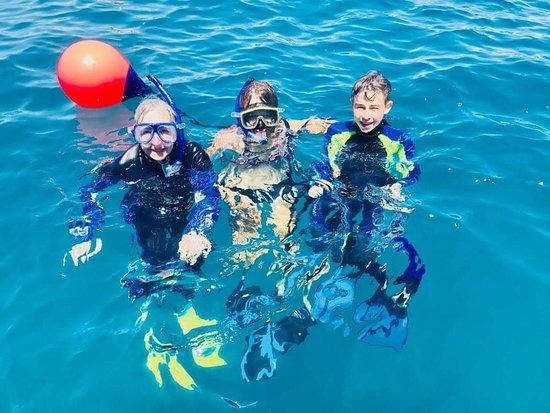 Tauranga, New Zealand: Snorkeling at Tuhua Mayor Island