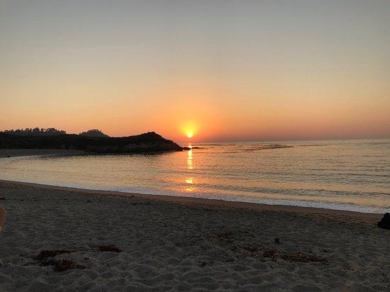 monastery beach sunset モントレー dream tours by the seaの写真