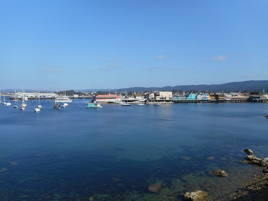 Monterey Peninsula Recreational Trail : Heading towards Fishermans Wharf