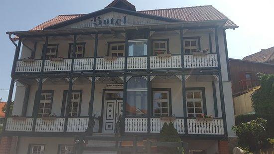 Bad Suderode, Γερμανία: Aussenansicht des Hotels