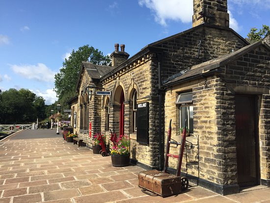 ‪Oakworth Station, Keighley & Worth Valley Railway‬