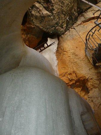Marktschellenberg, Germany: Wendeltreppe zur Höhle