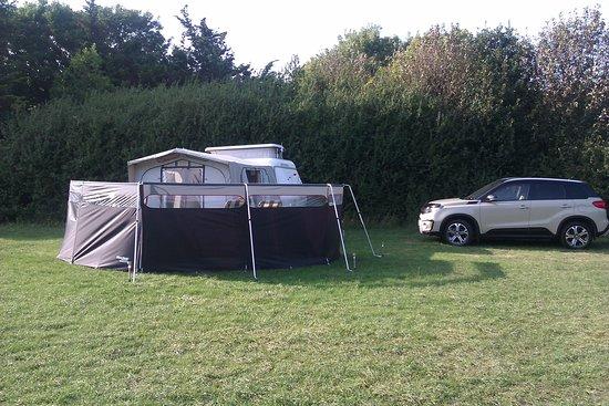Kingsdown, UK: Top of back field