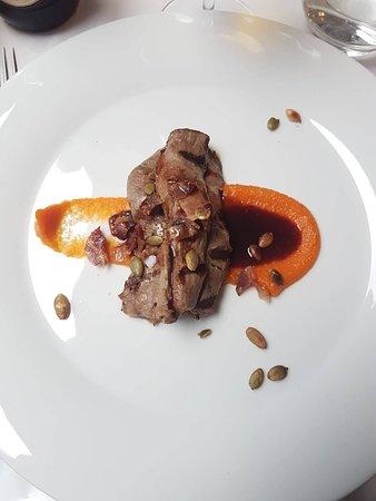 Restaurang Esperanza: Lamb with wine sauce and pumpkin!