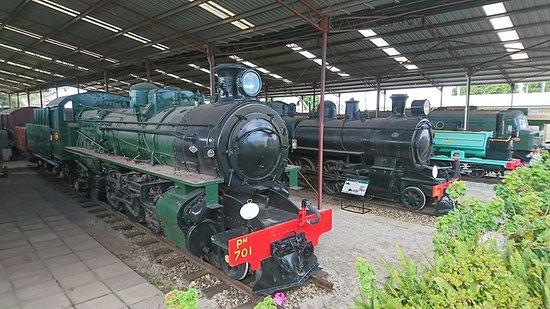 Steam Locomotives at The Bassendean Railway Museum