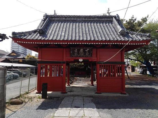 Tatebayashi, Nhật Bản: 青梅天満宮(青梅神社)神門