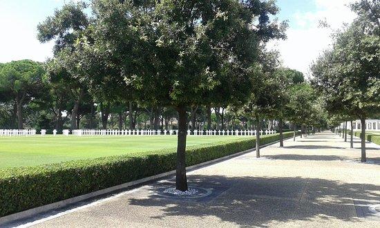 Sicily Rome American Cemetery and Memorial: Settembre 2018.